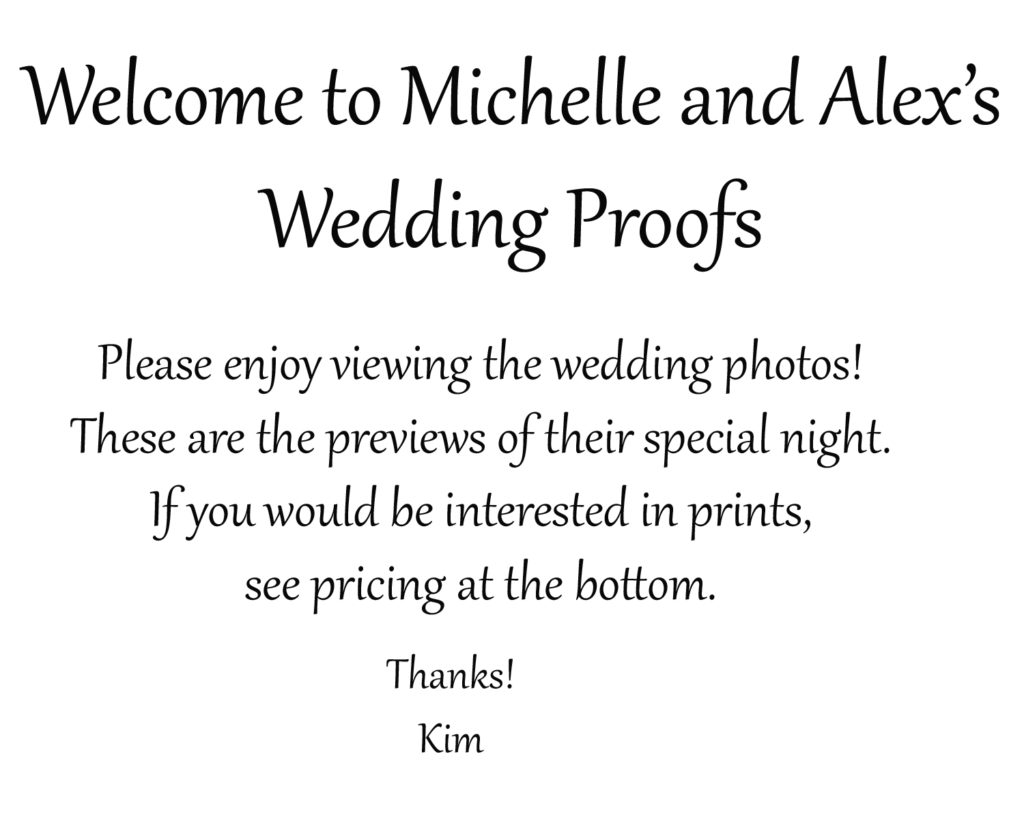 Proofs
