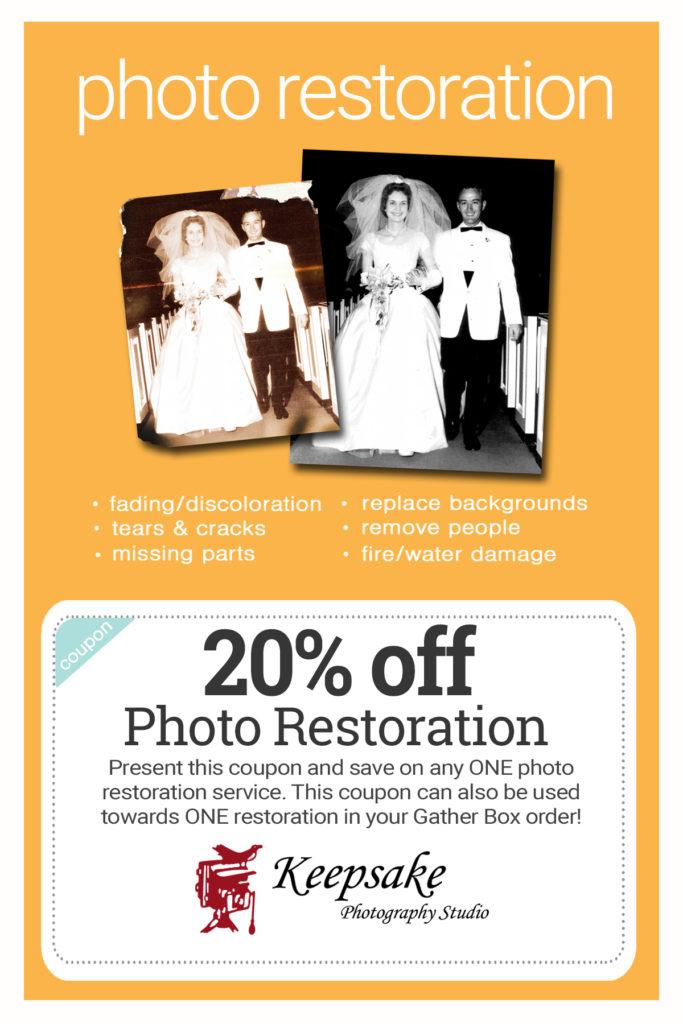 Keepsake -Restoration Offer