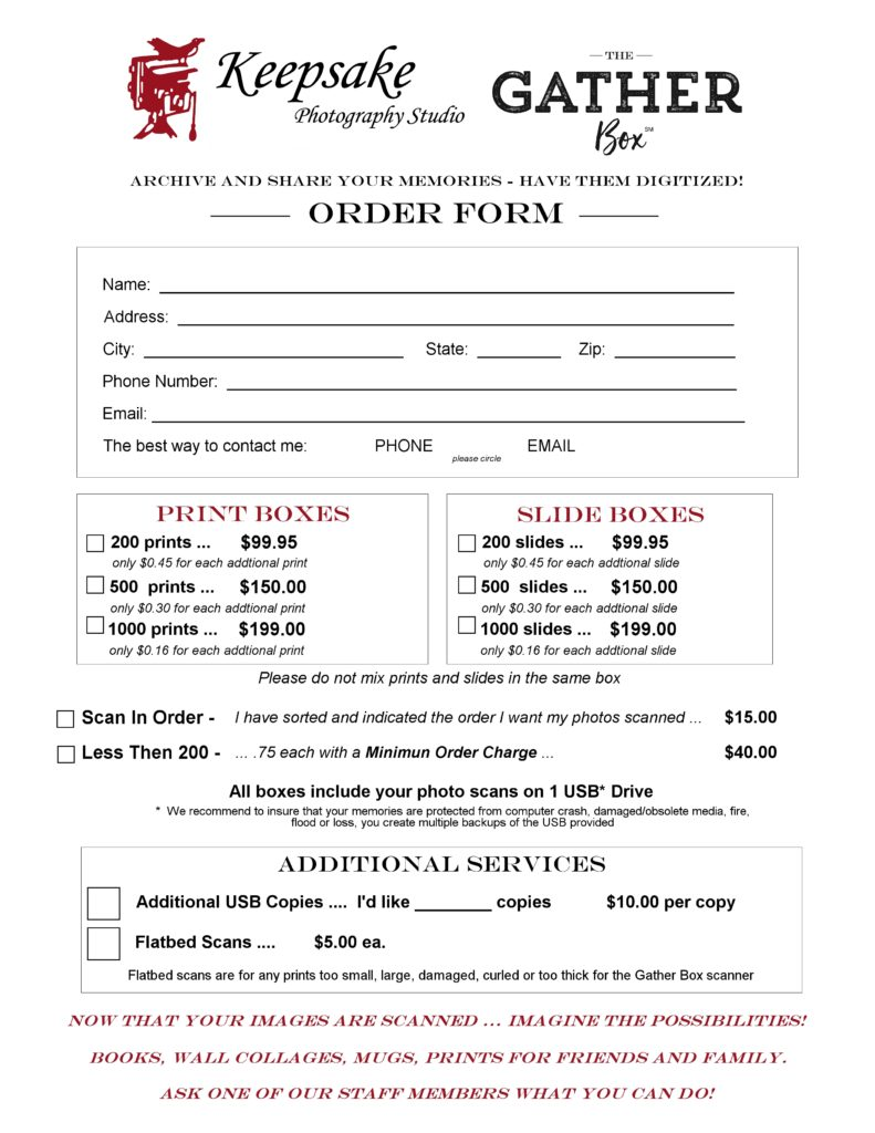 keepske order form