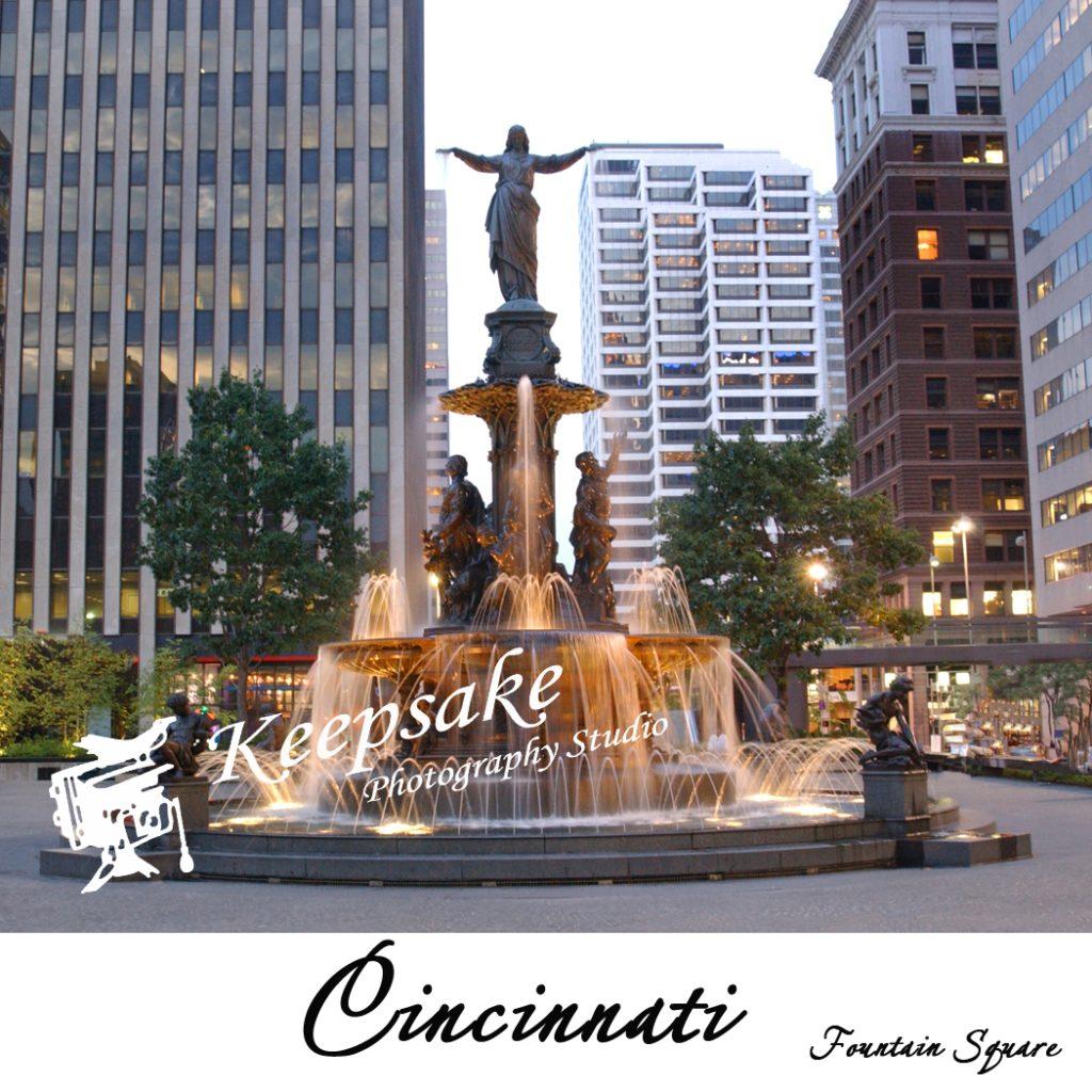 Fountain Square day